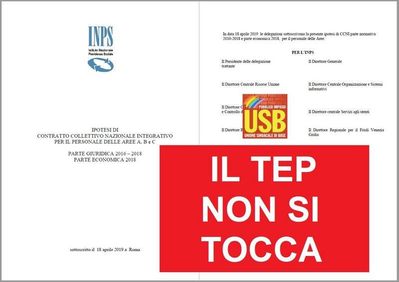 Usb Pubblico Impiego: USB INPS: IL TEP NON SI TOCCA. 4 ...